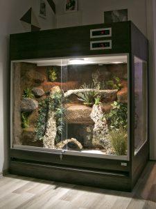 Terrarium für Schlangen ohne Unterschrank: T09F