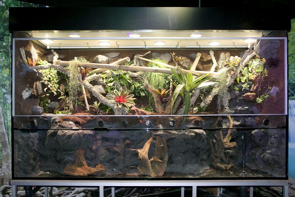 Aqua-Terrarium für Sea Life Oberhausen