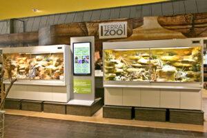 beide Steppen-Wüstenterrarien für Megazoo Hannover